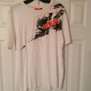 KTM Shirts - White KTM power wear shirt size xl!